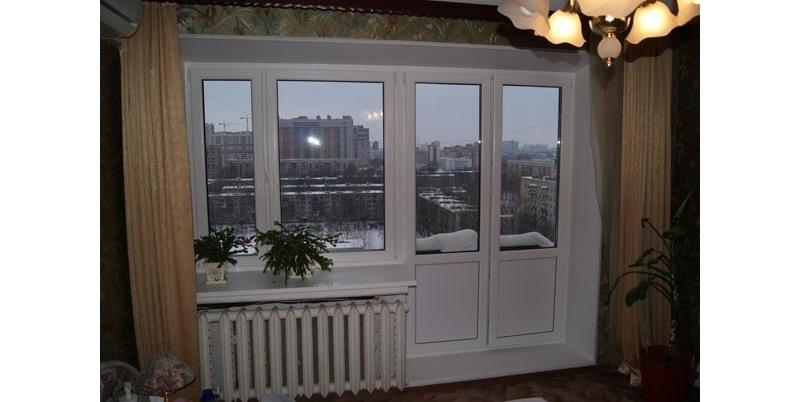 Портфолио работ по установке балконных дверей фото выполненн.